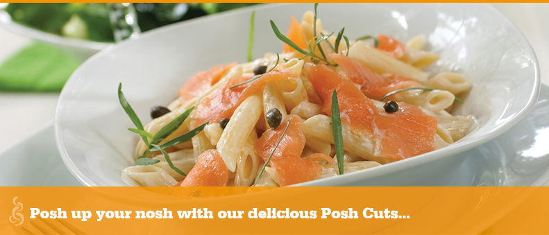 Posh up your nosh with our delicious smoked salmon